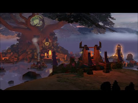 Heroes of Might & Magic 5 Sylvan Town Theme Animatic (2005, Ubisoft/Nival) 1080p HD Animated