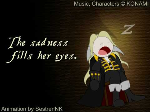 "Castlevania: Symphony of the Night  - ""Nocturne"" (English Version w/ Lyrics)"