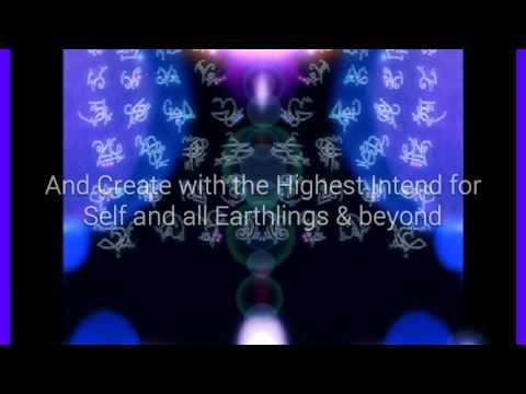 Inner Earth /Heart-Light Language Song /Art