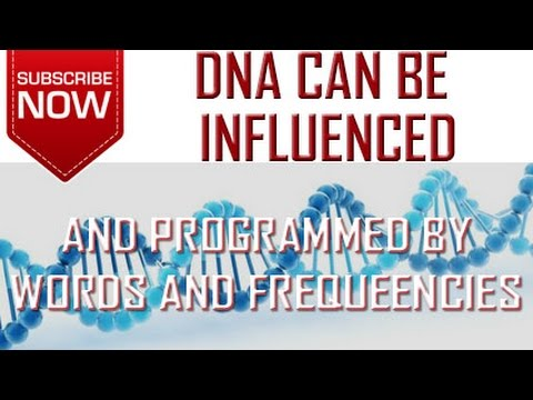 DNA Can Be Influenced And Reprogrammed By Words And Frequencies