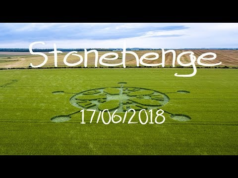 Crop Circle - Stonehenge - Reported 17/06/2018
