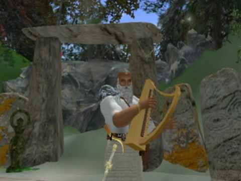 5.The Druid's Magical Harp