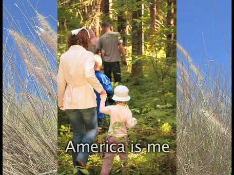 """AMERICA IS ME - Anthem for """"We the People"""" by Mack Hayes - Tea Party salute."""