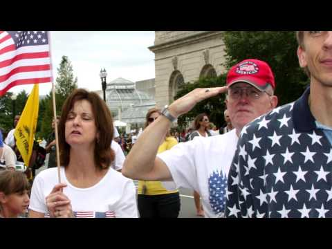 Best Video of 9/12 March in Washington... just a few of my friends dropped by... a million and a half of them!!