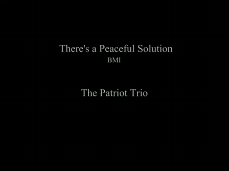There's A Peaceful Solution