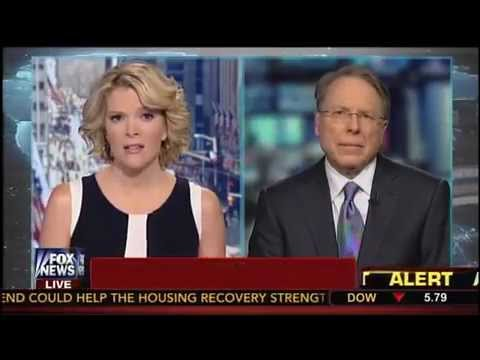 Wayne Lapierre Grilled By Fox News For NRA Opposing CT's New Gun Magazine Limits