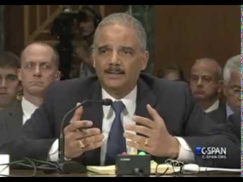 Eric Holder Refuses To Answer If DOJ Monitored Phones for Members of Congress