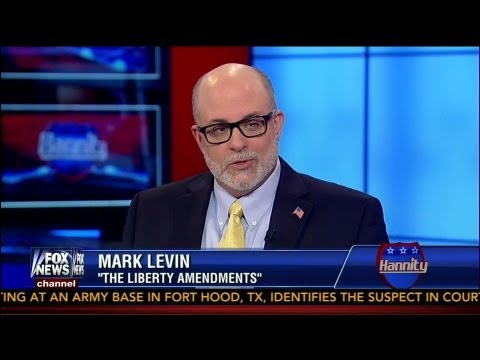 """Mark Levin """"The Liberty Amendements"""" - (COMPLETE) Sean Hannity Special - Fox News - 8-16-13"""