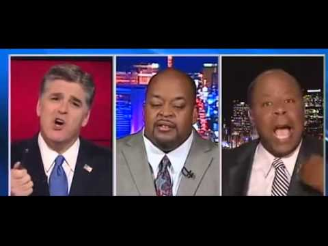 Guest Rips Out Earpiece Over Charge That Black Conservatives Have 'No Freedom Of Speech'