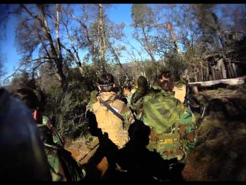 Diamond Corps Airsoft Missions Day 1-14-12