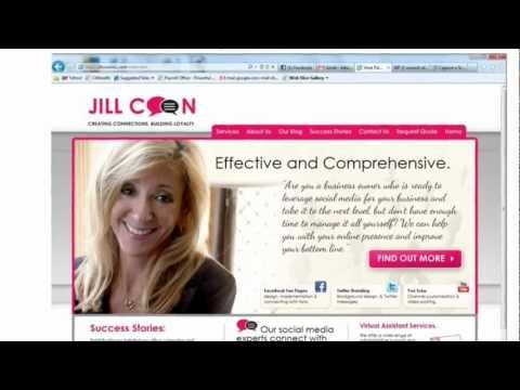 Jill Coon Inc presents Reasons to Use Social Media and Which Sites to Use