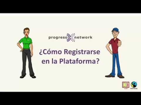 Guía de Registro para Nuevos Usuarios de la Red ProgresoNetwork