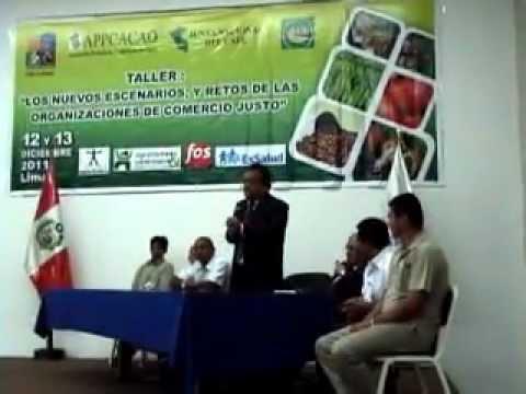 CNCJ-PERÚ organizó taller sobre Comercio Justo