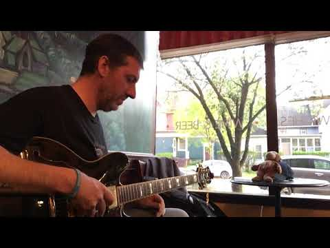 Ian C. Bouras live at Starry Nites Cafe, in Rochester