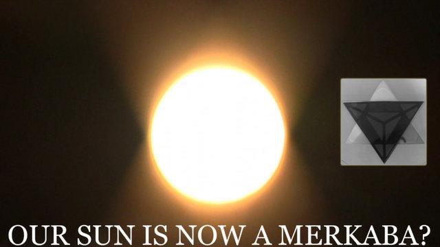 OUR SUN IS A MERKABA