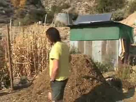 How to Make a Compost Shower