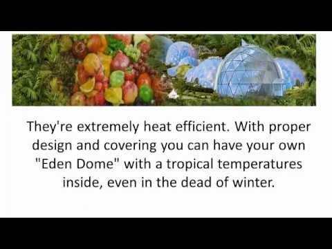 Biodome Revolution Greenhouse Organic Food