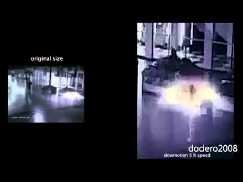 TIME TRAVELLER CAUGHT ON SURVEILLANCE CAMERA..WHAT DO YOU THINK?