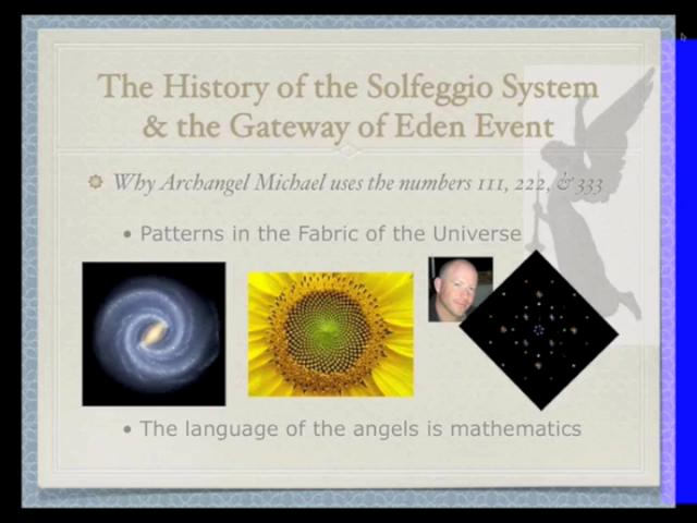 The Lost Seeds of the Solfeggio ... Segment 1