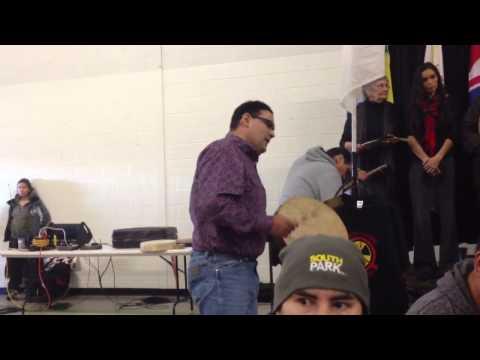 Bob Badger #IdleNoMore Saskatoon Rally 2013