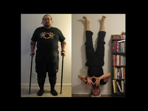 Never, Ever Give Up.  Couldn't barely walk - What Will + Yoga Did.