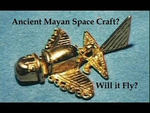 "Ancient Mayan ""Space Vehicle"" Reverse Engineered."