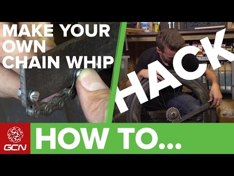 How To Make Your Own Chain Whip | GCN Cycling Hacks