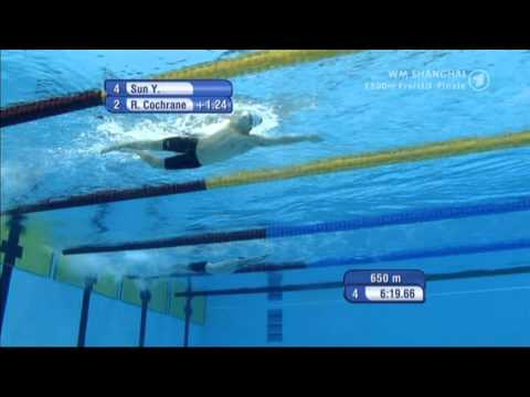 Swim like Sun Yang  (Under Water & Slow Motion)