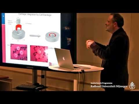 Lecture Anthony Hollander: The Future of Regenerative Medicine