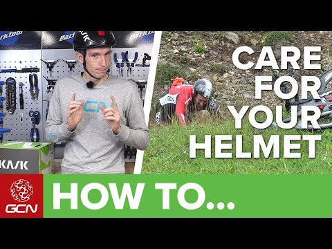How To Care For Your Bicycle Helmet