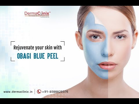 Rejuvenate Your Skin with OBAGI BLUE PEEL | Dr. Amrendra Kumar - DermaClinix