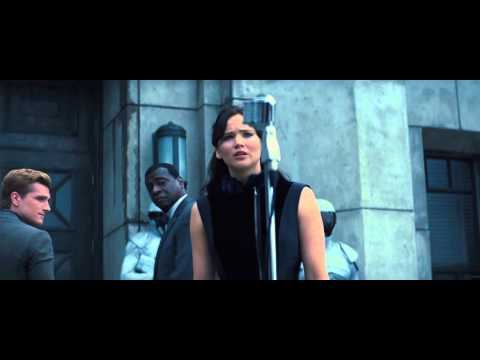 The Hunger Games Catching Fire - District 11 - Victory Tour speech