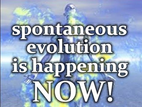 Spontaneous Evolution is Happening