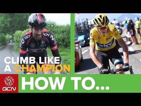 How To Climb Like A Tour De France Contender