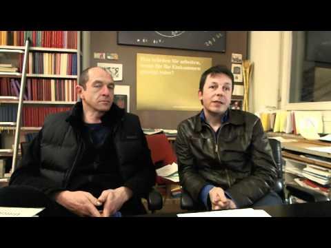 Interview mit Daniel Häni und Enno Schmidt
