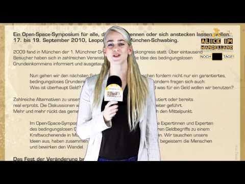 Alice im Wandelland - Breaking News - München Symposium