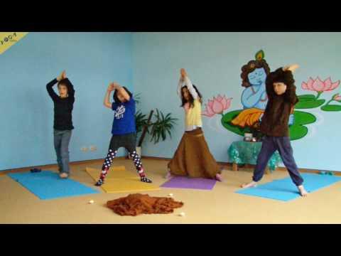 Yogastunde für Kinder: Komplett 35 Min Yoga Piraten