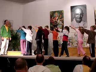 Kinder und Kampfkunst - Aufführung