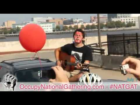 All In The Red March - Student Debt Bubble - Occupy National Gathering Day 2