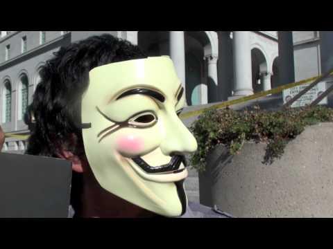Occupy LA + Anonymous + Digital Guerillas