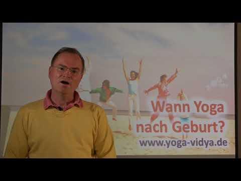 Wann Yoga nach Geburt? - Frage an Sukadev