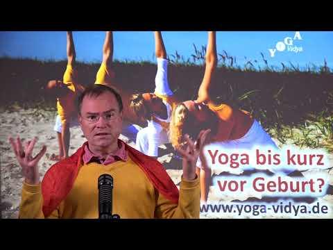 Yoga bis kurz vor Geburt? - Frage an Sukadev