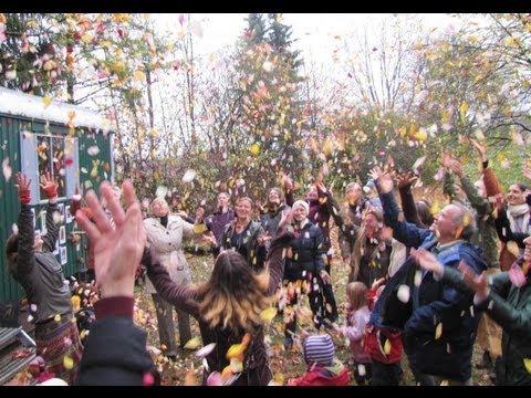 Einweihung des Waldkindergartens Waldfrüchtchen bei Yoga Vidya Bad Meinberg