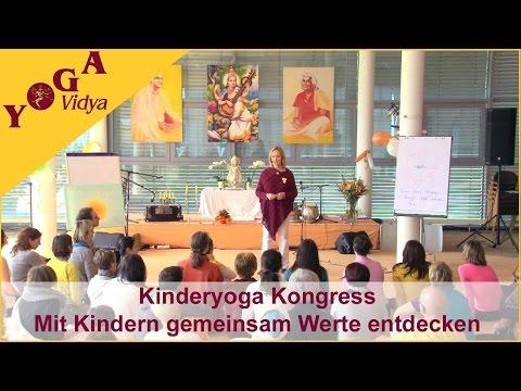 Kinderyoga Kongress - Mit Kindern gemeinsam Werte entdecken