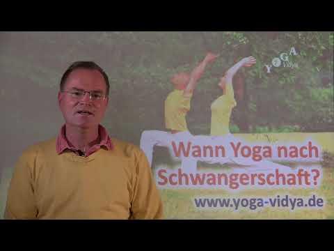 Wann Yoga nach Schwangerschaft? - Frage an Sukadev