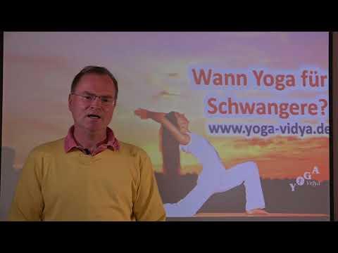 Wann Yoga für Schwangere? - Frage an Sukadev