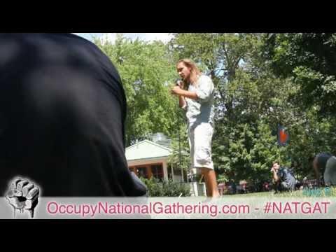 Amadon DellErba on Spiritualution.org - Occupy National Gathering Day 3