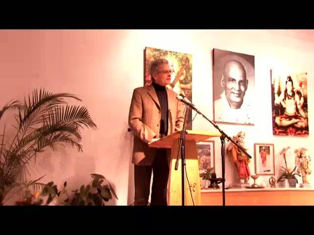 Ayurveda Kongress 2010 -Ansprache Bürgermeister Eberhard Block