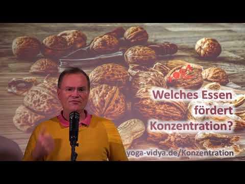 Welches Essen fördert Konzentration? - Frage an Sukadev