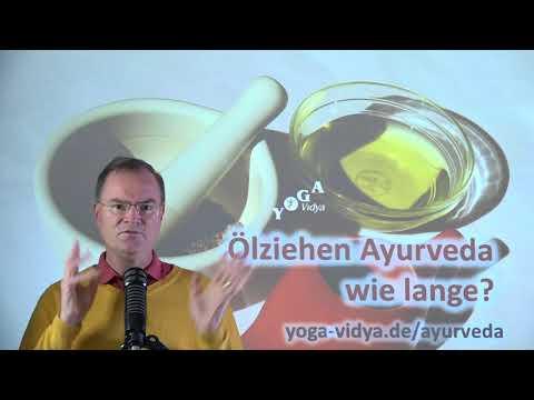 Ölziehen - Ayurveda wie lange? - Frage an Sukadev